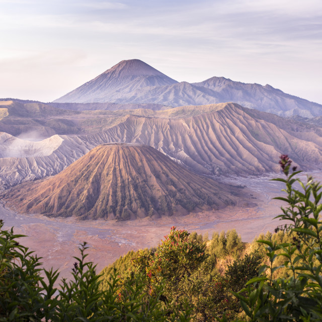"""Bromo Sunrise"" stock image"