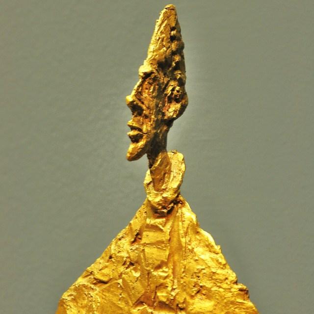 """""""Slender Bust on Plinth"""" stock image"""