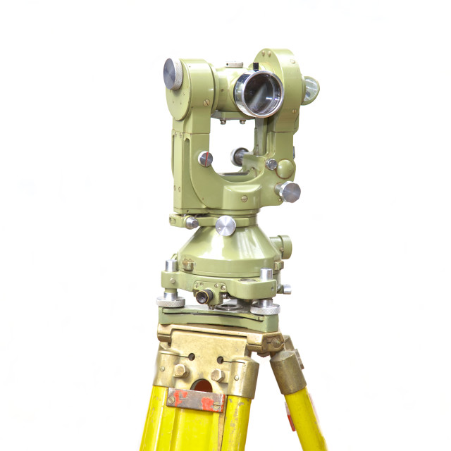 """Mine survey equipment"" stock image"