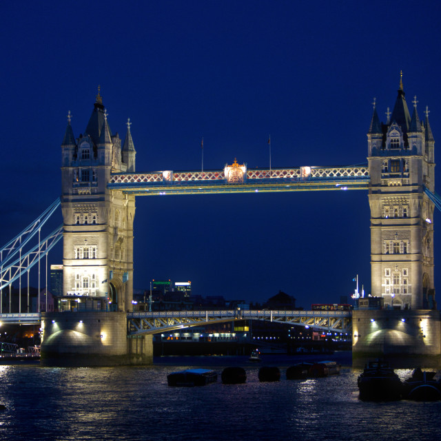 """London Tower Bridge"" stock image"