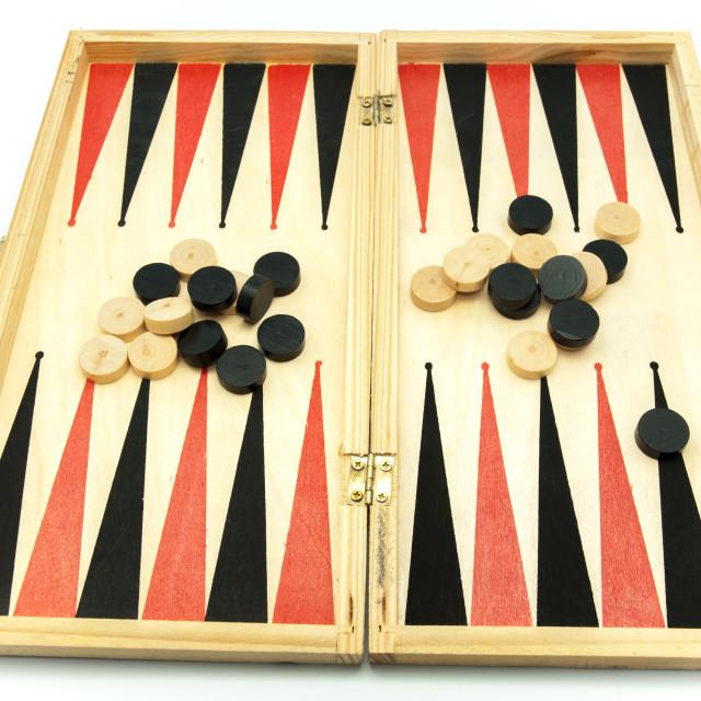 """backgammon game"" stock image"