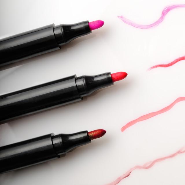 """four contour lipstick"" stock image"