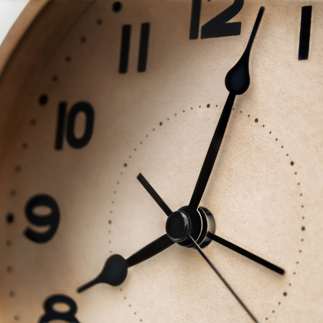 """""""alarm clock closeup"""" stock image"""