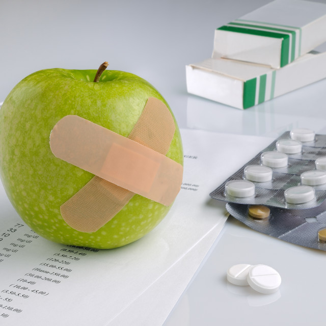 """analysis results and prescription drug"" stock image"