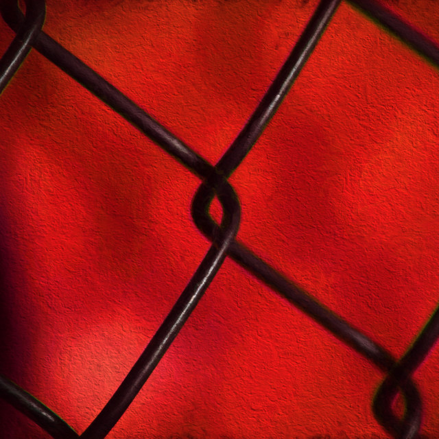 """Chain Link Fence"" stock image"