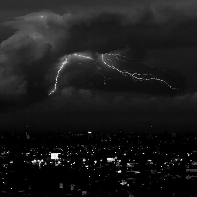 """thunder lll"" stock image"