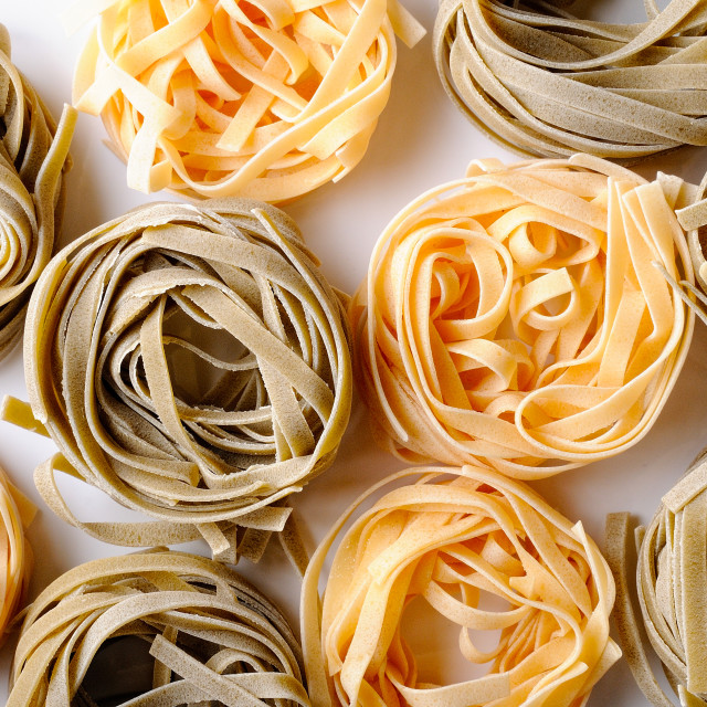 """background texture uncooked tagliatelle"" stock image"