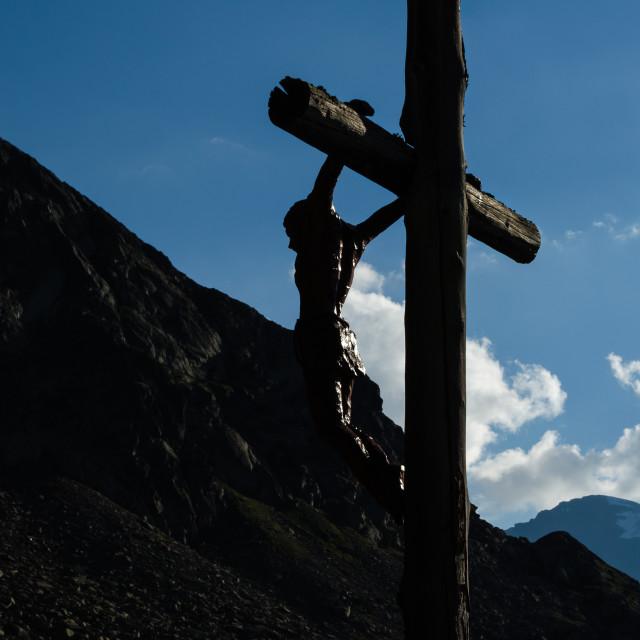 """""""Cristo crocifisso (crucifix)"""" stock image"""