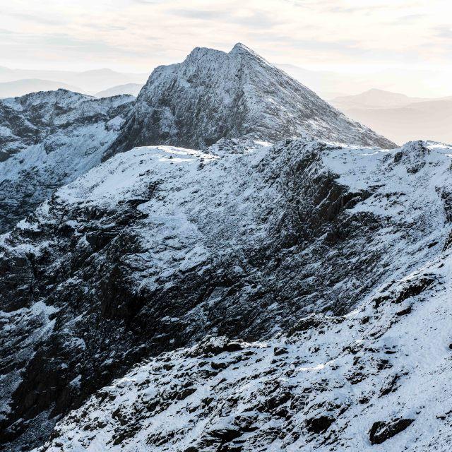 """Winter Peaks"" stock image"