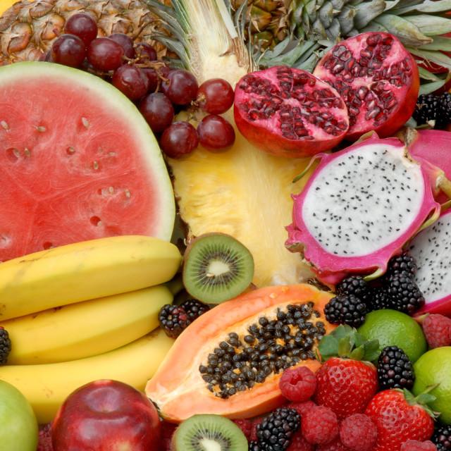 """Fruit variety"" stock image"