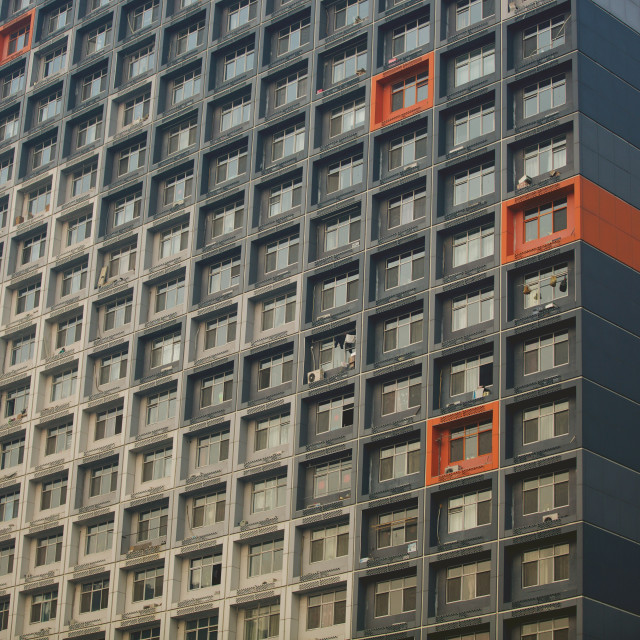 """high-density housing block"" stock image"