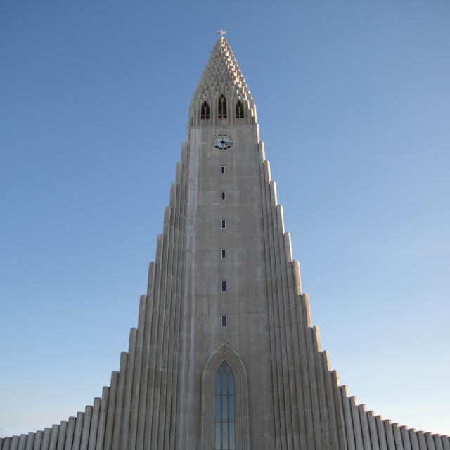 """Hallgrimskirkja, Reykjavik, Iceland"" stock image"