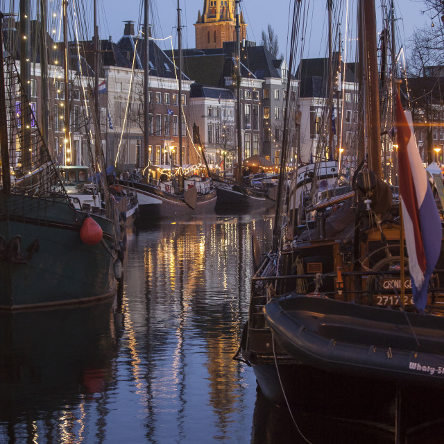 """""""Sailing event in the Netherlands"""" stock image"""