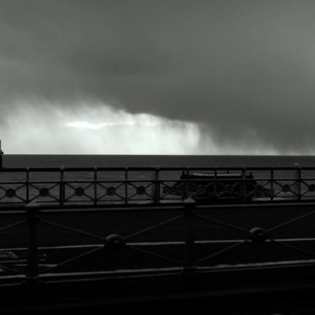 """Brighton Storm"" stock image"