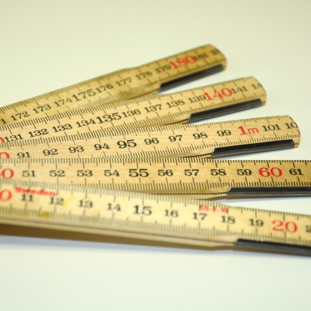 """Wooden Ruler"" stock image"