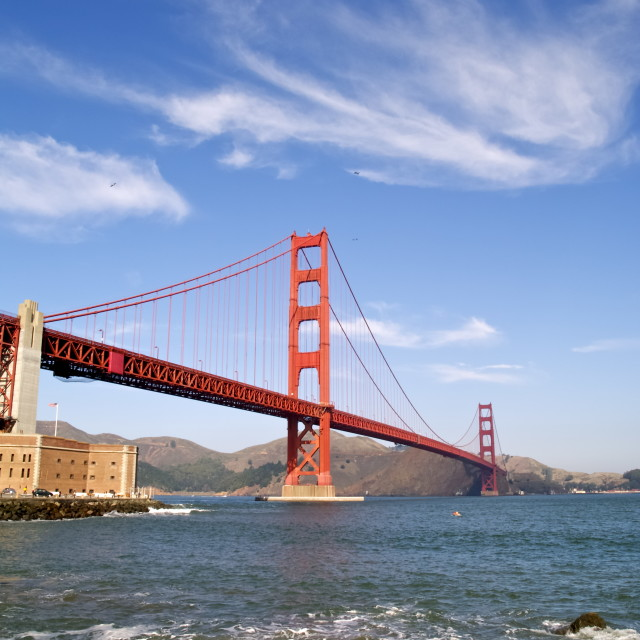 """The Golden Gate"" stock image"