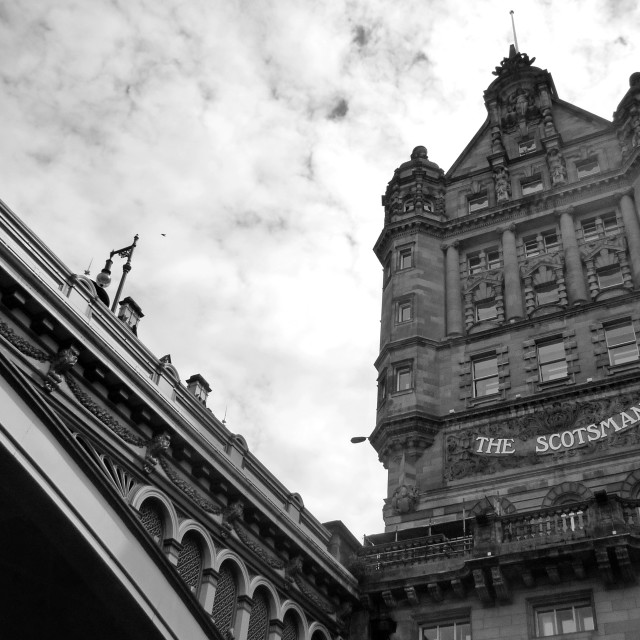 """The Scotsman"" stock image"