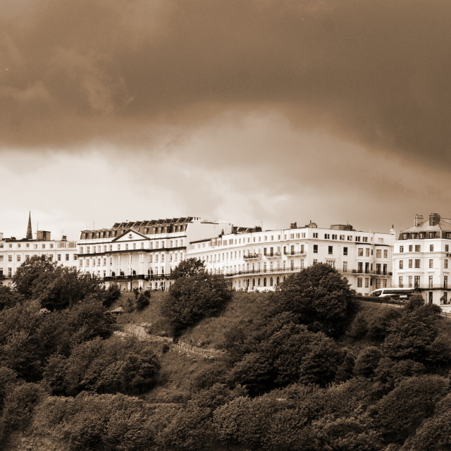 """The Esplanade Hotel"" stock image"