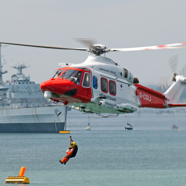 """Rescue India Juliet"" stock image"