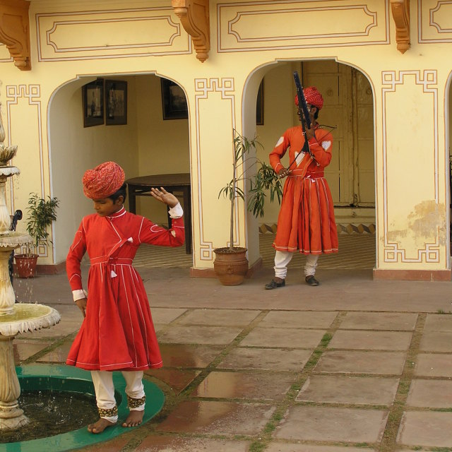 """BOY DANCER RAJASTHAN"" stock image"