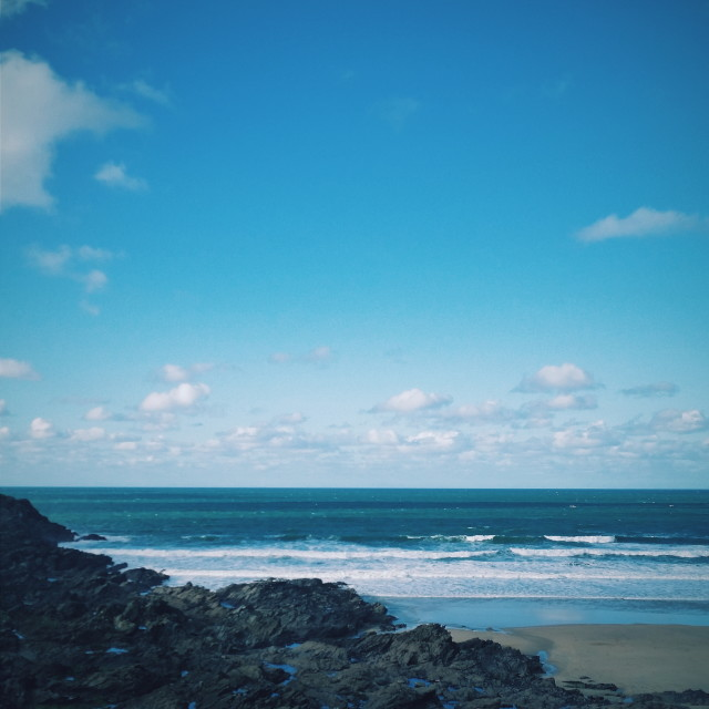 """Fistral Beach, Newquay"" stock image"