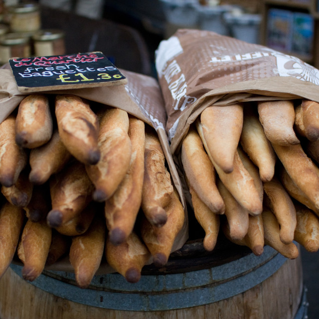 """""""Baguettes"""" stock image"""