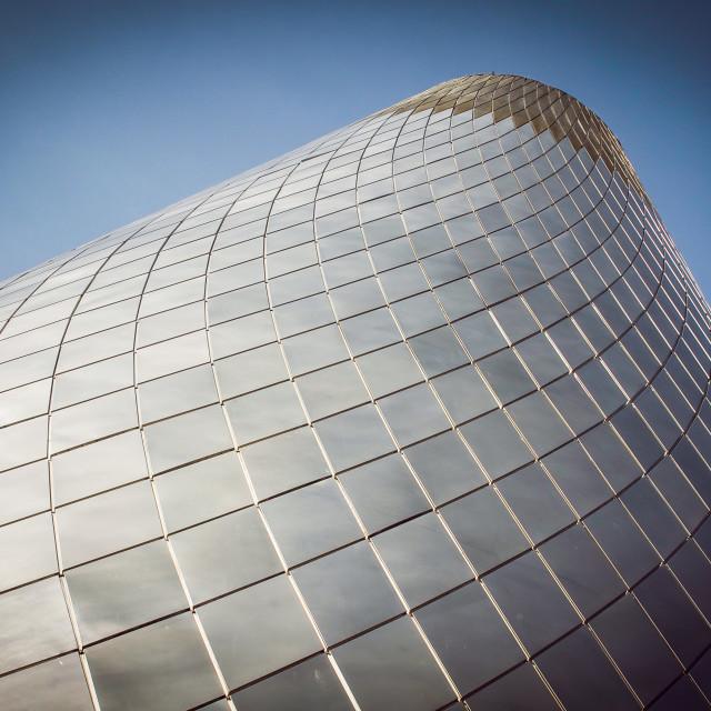 """Chimney Cone Tacoma - Blues"" stock image"