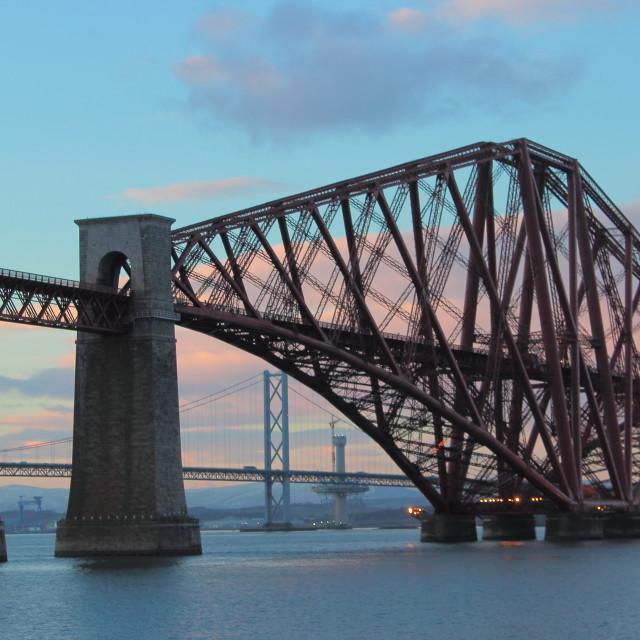 """2.5 bridges"" stock image"