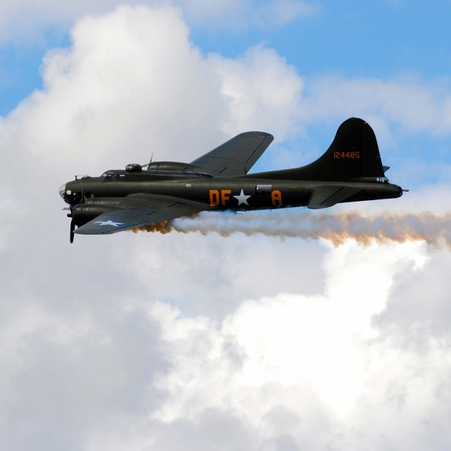 """FLYING FORTRESS"" stock image"