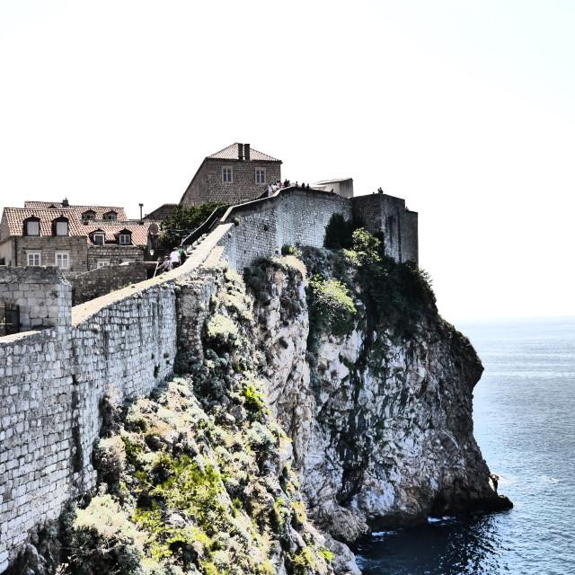 """Walls of Dubrovnik"" stock image"