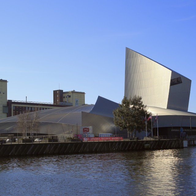 """The Imperial War Museum (North)"" stock image"