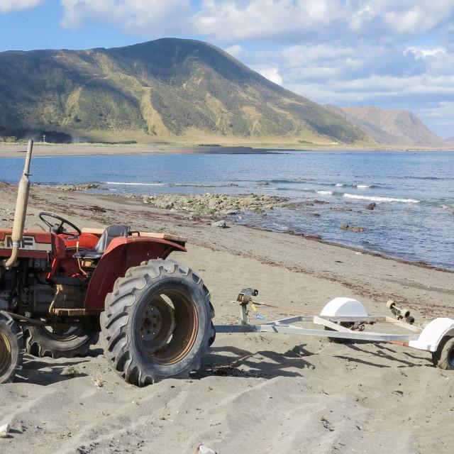 """Tora beach"" stock image"