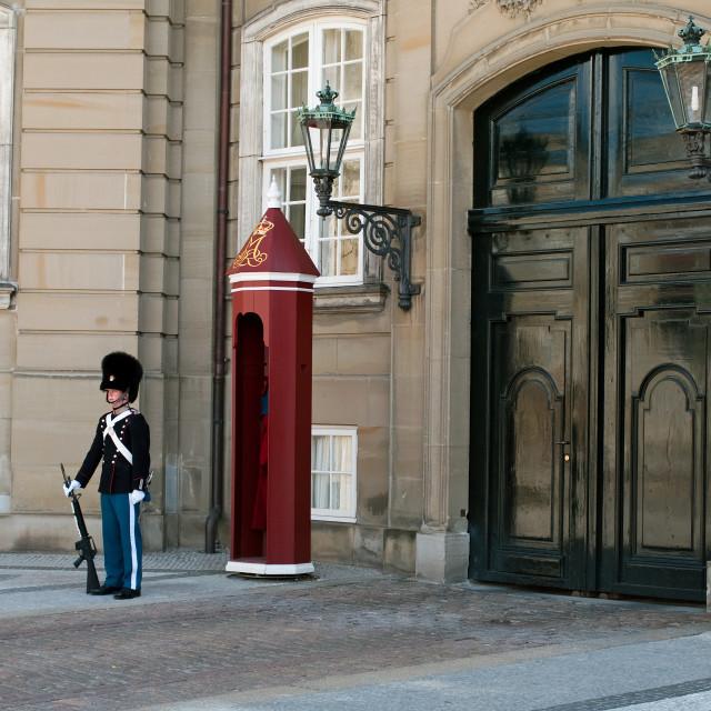 """Castle guard"" stock image"