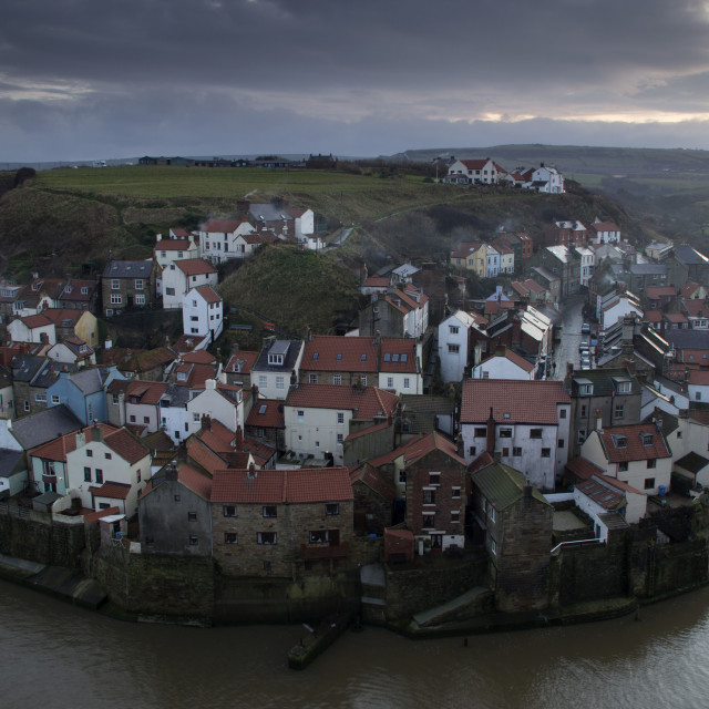 """""""Staithes"""" stock image"""