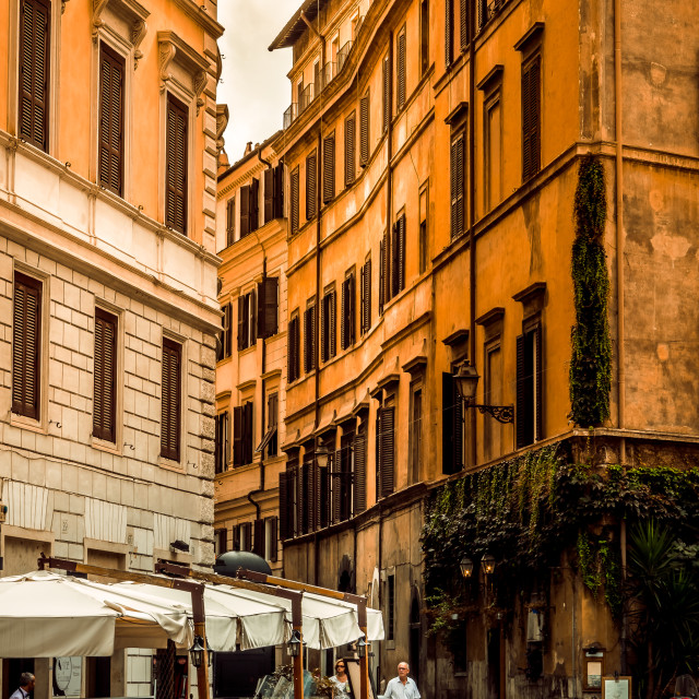 """Rome Alley"" stock image"