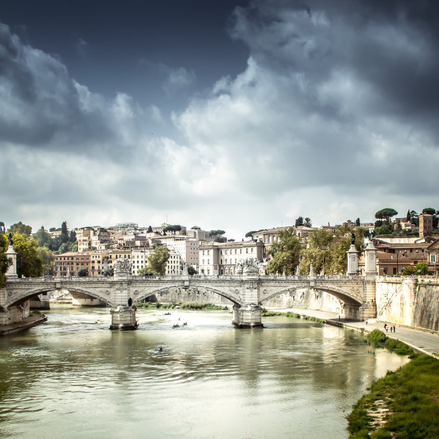 """Tiber River"" stock image"