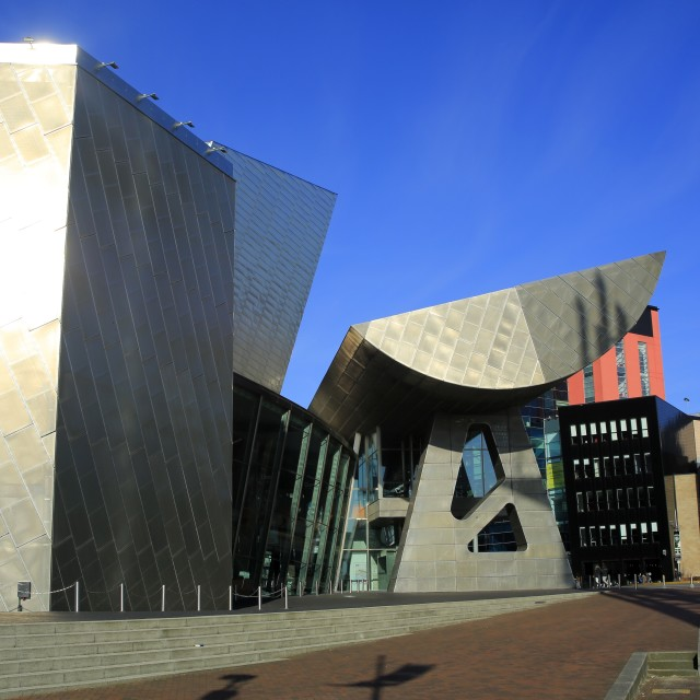"""The Lowry Theatre"" stock image"