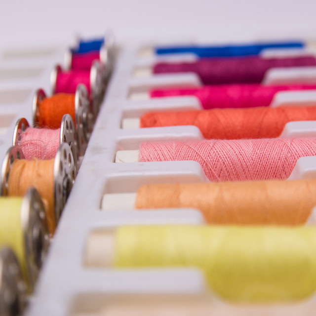 """Sewing thread"" stock image"