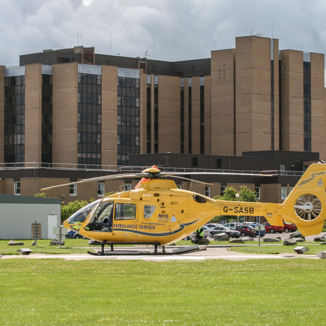 """Scottish Air Ambulance"" stock image"
