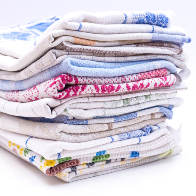 """Dishtowels"" stock image"