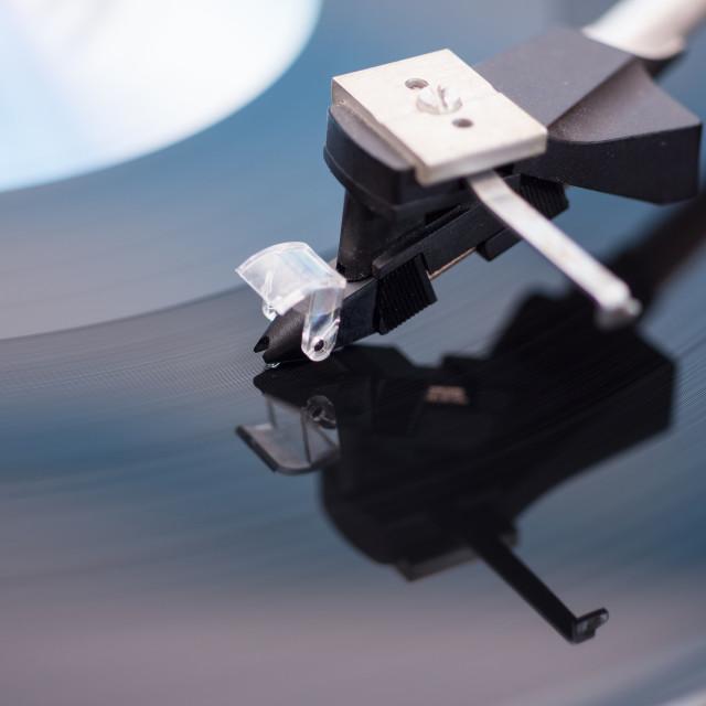 """Phonograph"" stock image"