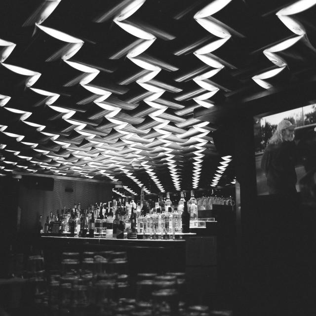 """""""Cafe Rock, Budapest, Hungary"""" stock image"""