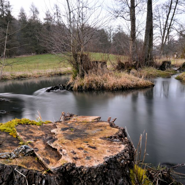 """Rencomb River Churn"" stock image"