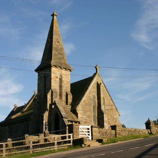 """Blubberhouses Chapel"" stock image"