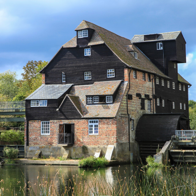 """Old Mill"" stock image"