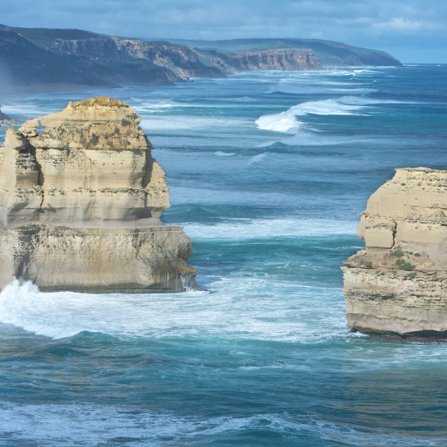 """Twelve Apostles Scenic View"" stock image"