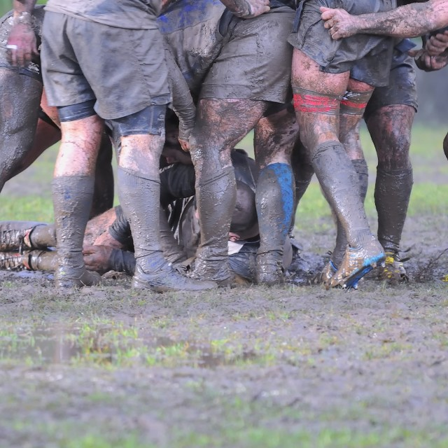 """""""Rugby match."""" stock image"""