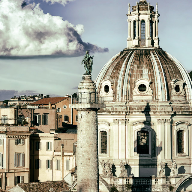 """Cityscape of Rome"" stock image"