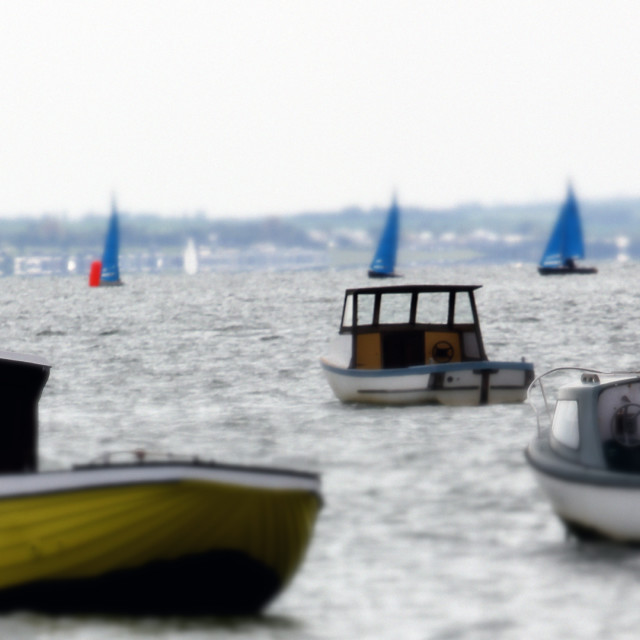 """""""Toy Boats"""" stock image"""