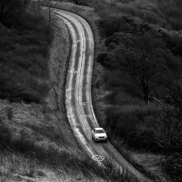 """Winding road"" stock image"